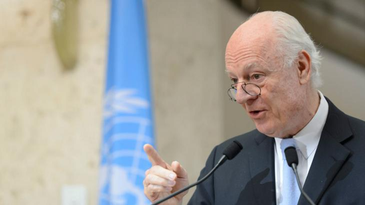 UN Special Envoy Staffan de Mistura (photo: picture-alliance/dpa/M. Trezzini)