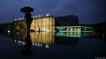 Cologne main railway station (photo: Reuters/W. Wattay)
