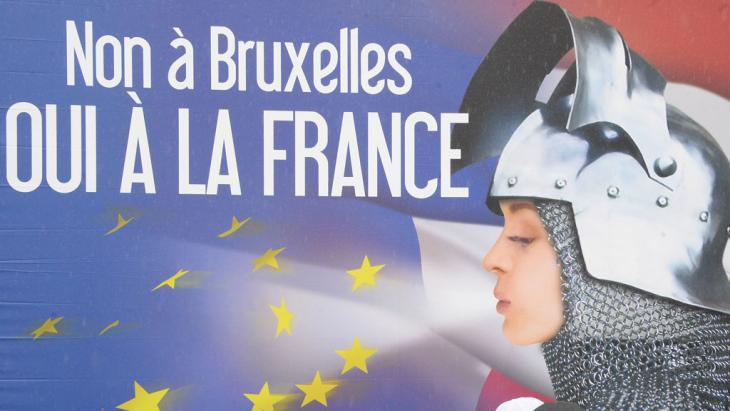 Front National election poster in France (photo: AFP)