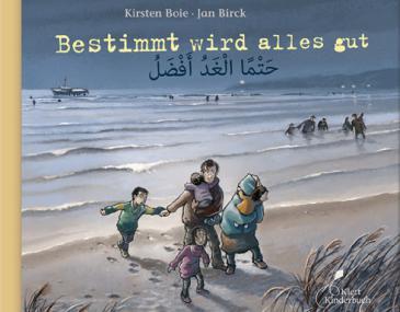 Cover of Kirsten Boie′s ″Bestimmt wird alles gut″ (published by Klett)