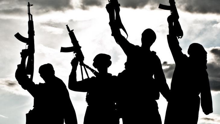 Symbolic image of jihadists (photo: Colourbox/krbfss)
