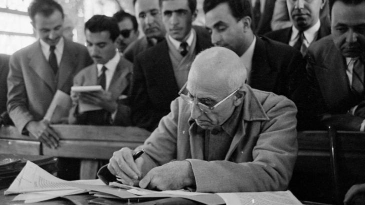 Iran′s former prime minister Dr Mohammad Mossadegh (source: Tarikhirani.ir)