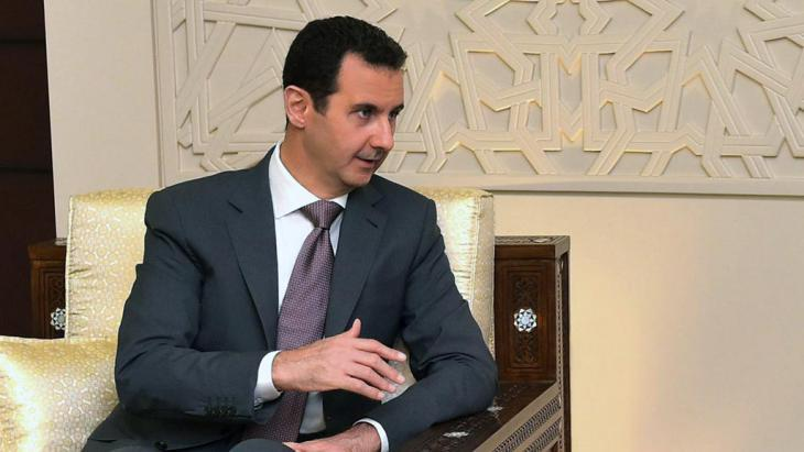 Syria′s president, Bashar al-Assad (photo: Syrian Arab News Agency)