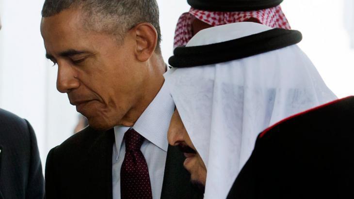 Barack Obama receives King Salman bin Abdulaziz Al Saud on 4 September 2015 in Washington (photo: picture-alliance/epa/M. Reynolds)