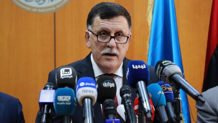 Libya′s prime minister Fayez Sarraj (photo: Getty Images/AFP/Str)