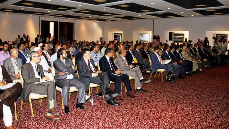 Libyan parliamentarians in Tobruk (photo: Reuters)