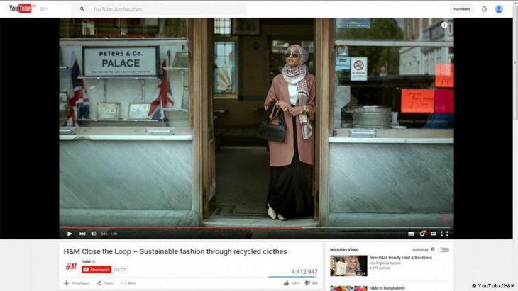 H&M fashion video still (source: YouTube)