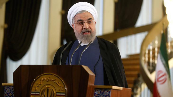 Iranian President Hassan Rouhani (photo: Mehr)