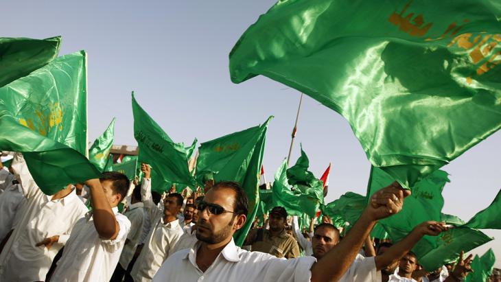 Muqtada al-Sadr supporters in Baghdad (photo: AHMAD AL-RUBAYE/AFP/Getty Images)