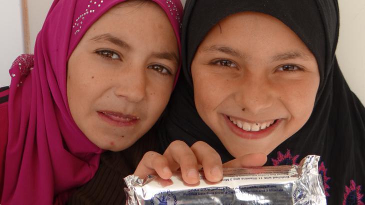 World Food Programme: feeding the refugees in Zaatari (photo: WFP/Dina Elkassaby)