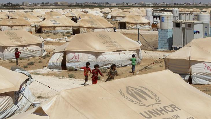 Zaatari refugee camp in Mafraq, Jordan (photo: Reuters)