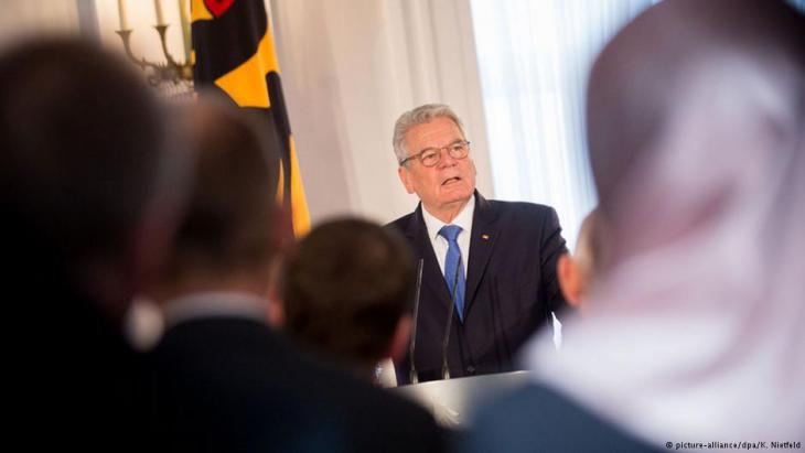 President of the Federal Republic of Germany Joachim Gauck