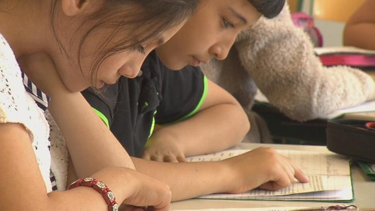 Islamic religious education in a German school (photo: DW)