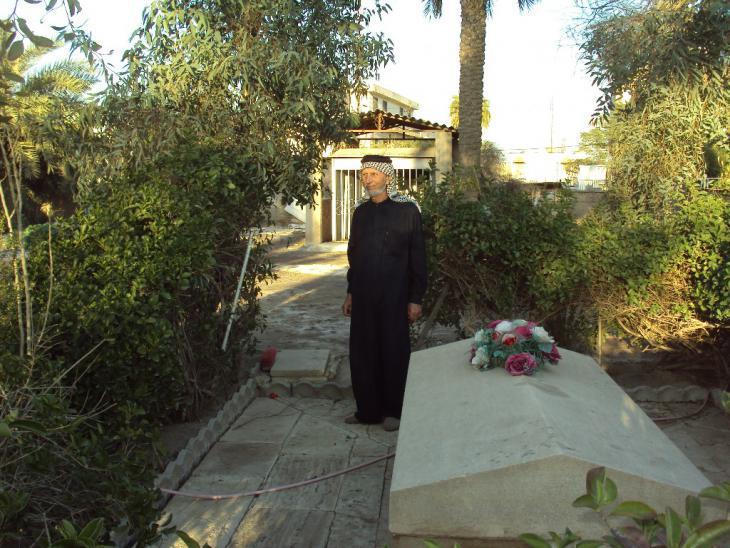 Gertrude Bell′s final resting place (photo: Birgit Svensson)