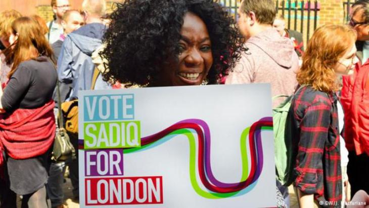 A pro-Sadiq Londoner prior to the mayoral election