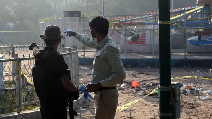 Easter Sunday bombing in Lahore (photo: Getty Images/AFP/A. Ali)