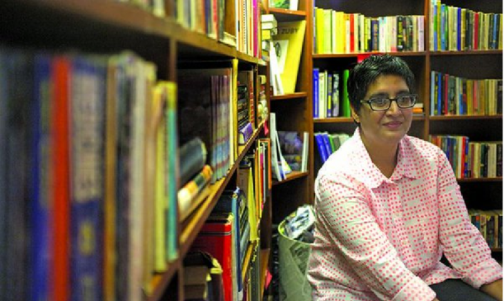 Pakistani human rights activist Sabeen Mahmud who was murdered by gunmen in April 2015 (source: Twitter)