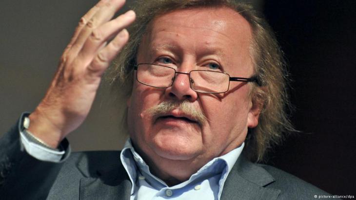 Controversial philosopher Peter Sloterdijk (photo: dpa)