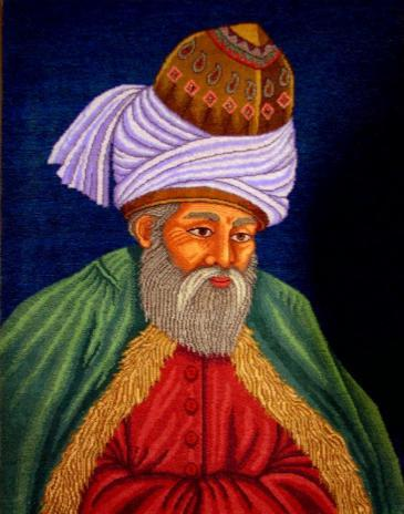 Portrait of Jalaluddin Rumi (source: private)