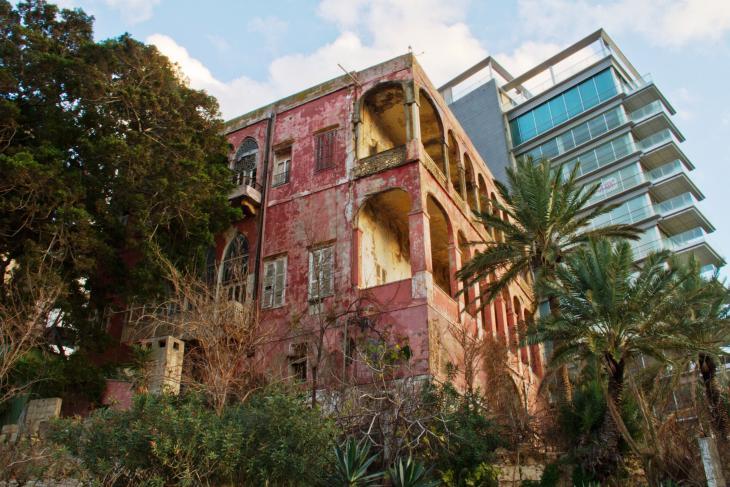 Beirut's nineteenth century Rose House (photo: Changiz Varzi)