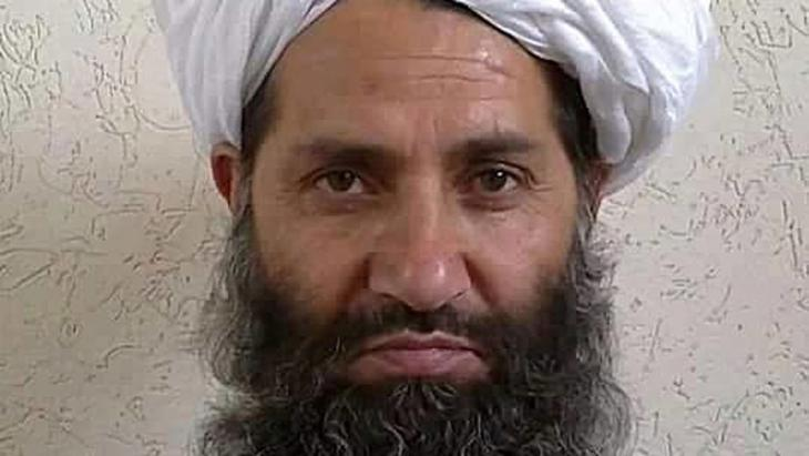 Mullah Haibatullah Achundsada (photo: picture-alliance/dpa/Afghan Islamic Press via AP)