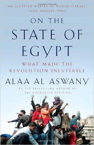 Cover of ″On the state of Egypt – What made the revolution inevitable″, published by Vintage