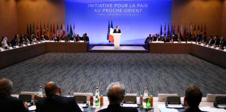Middle East conference hosted by France in Paris on 3 June 2016