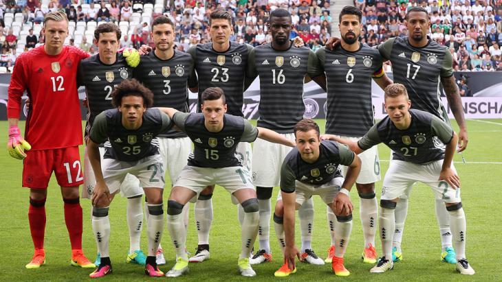 Germany′s national eleven (photo: Imago/Pressefoto Baumann)