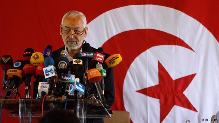 Ennahda leader Rachid al-Ghannouchi (photo: Reuters/Zubeir Souissi)