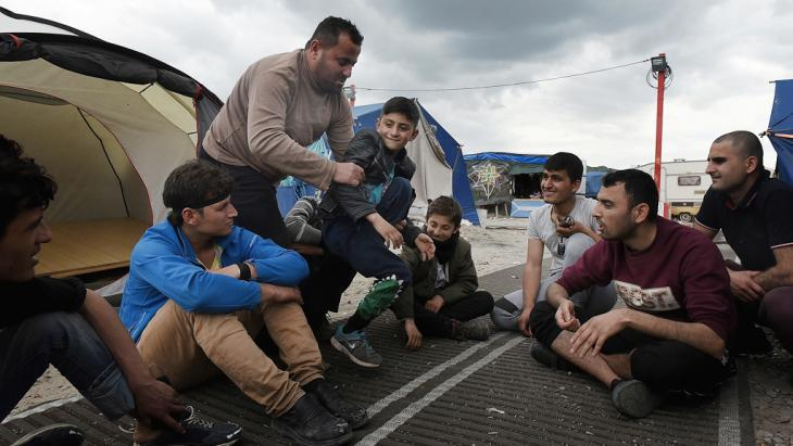 Refugees in Calais (photo: Getty Images/M. Turner)