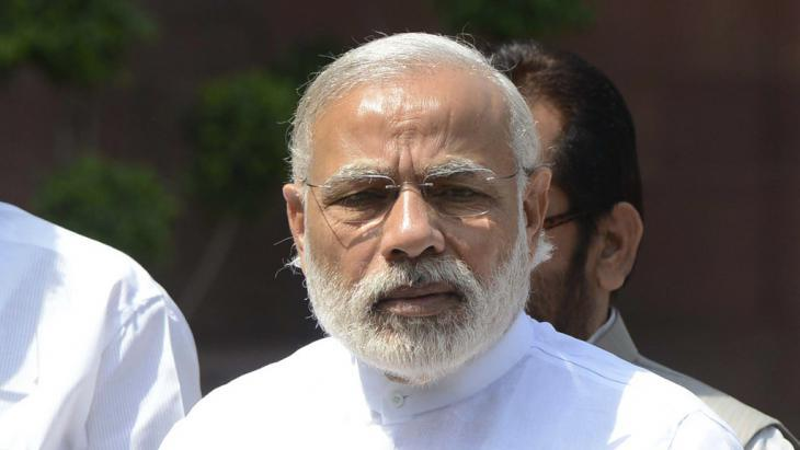 India′s prime minister, Narendra Modi, (photo: picture-alliance/Xinhua)