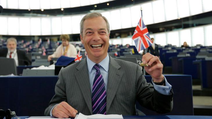 Leader of UKIP Nigel Farage (photo: Reuters/V. Kessler)