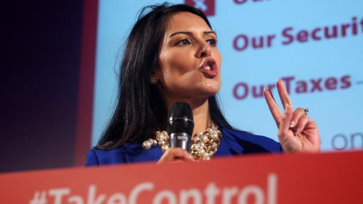 Great Britain′s Conservative politican Priti Patel (photo: Reuters/N. Hall)