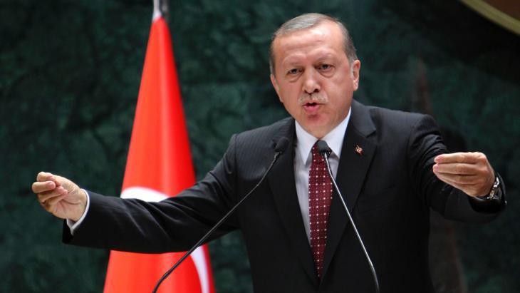 Turkish President Erdogan (photo: Getty Images/AFP/A. Altan)