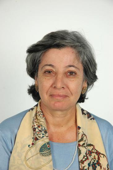 Tunisian historian Kmar Bendana (photo: Sarah Mersch)