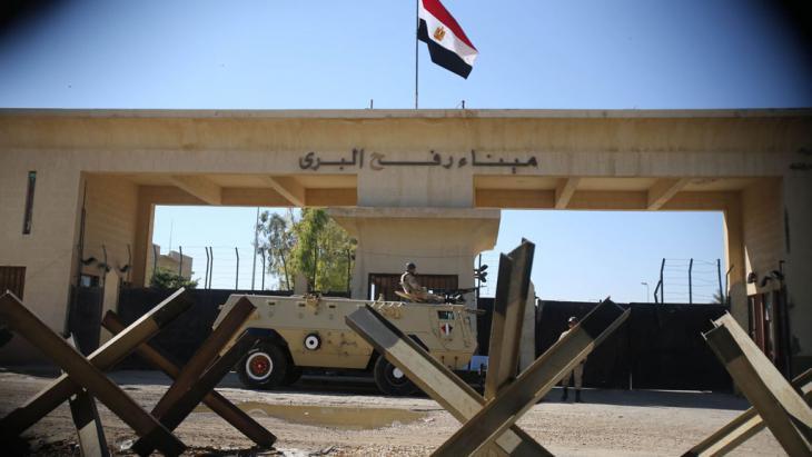 The Egyptian border near Rafah (photo: Reuters/I.A. Mustafa)