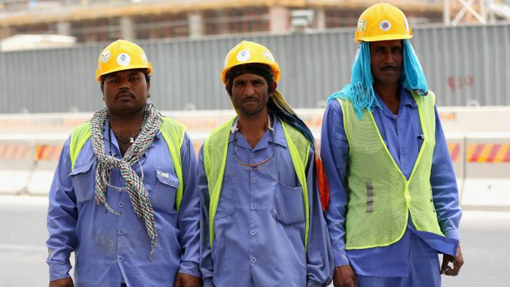 Expat workers in Doha (photo: Getty Images/W. Little)