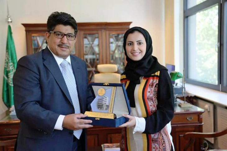 Saudi author Alhanoof Aldegheishem also holds a doctorate in dentistry and has received a number of awards relating to her work in the field (photo: private)