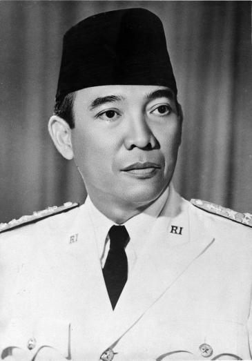 Indonesia′s first president Sukarno (photo: Wikipedia)