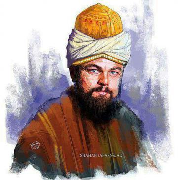 Omidhq tweet: Can you imagine @LeoDiCaprio as #Rumi