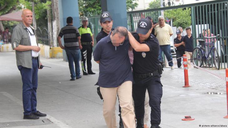Turkey arrests university professors