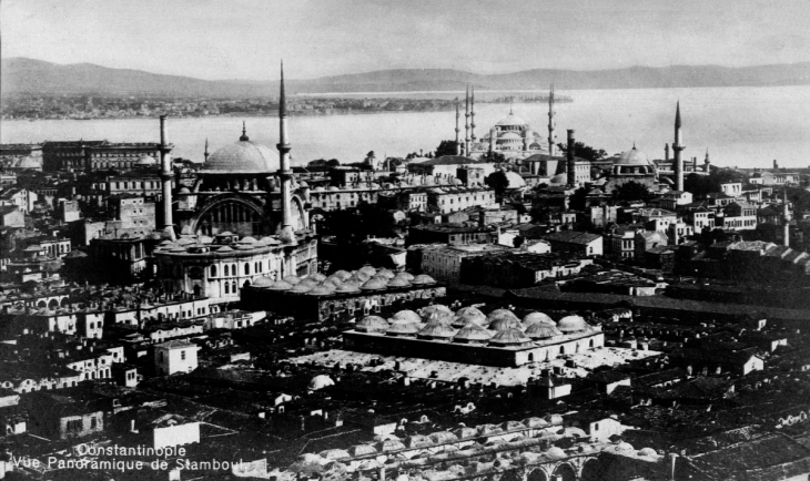 Historical image of Istanbul (source: Wikipedia)