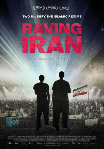 """Movie poster """"Raving Iran"""""""