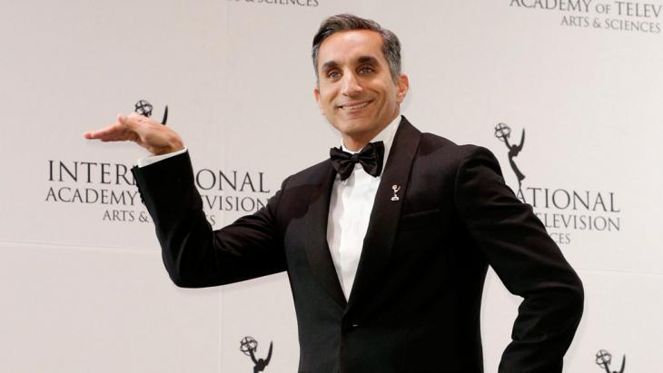 Bassem Youssef (photo: picture-alliance/dpa/A. Gombert)