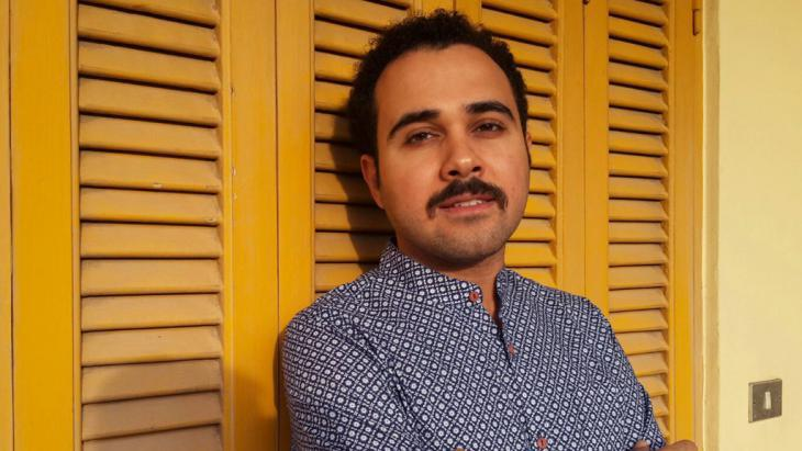 Egyptian author Ahmed Naji (photo: picture-alliance/dpa/Y.H. El Din)