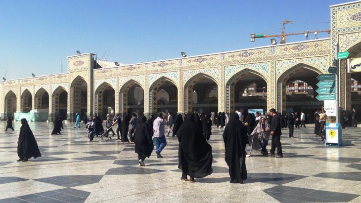 Imam Reza shrine in Mashhad (photo: private)