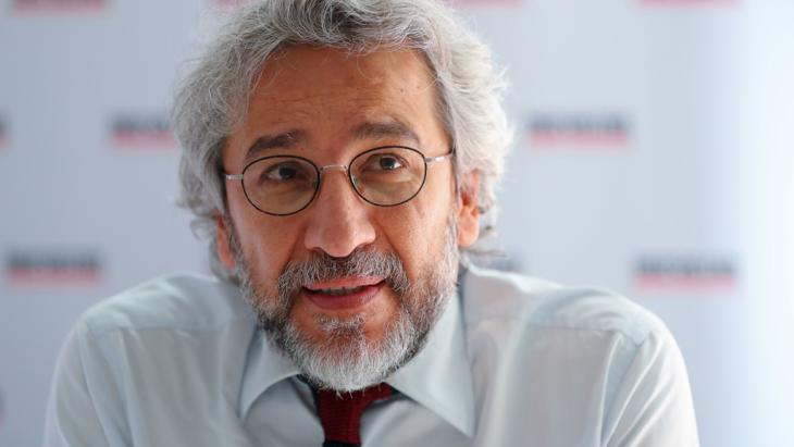Turkish journalist and former editor-in-chief of ″Cumhuriyet″, Can Dundar (photo: picture-alliance/dpa/K. Nietfeld)