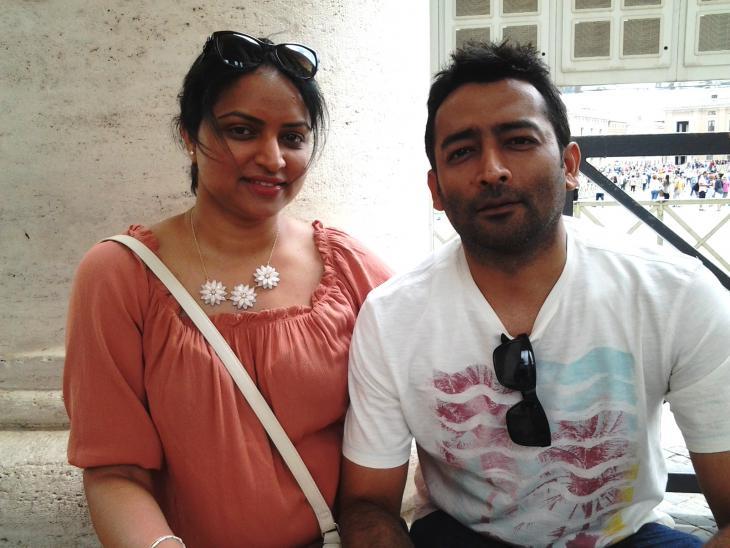 Ratib and Ankita from India (photo: Mulham Al Malaika)
