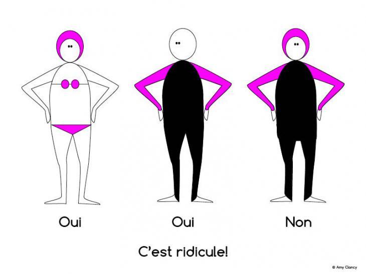 C'est ridicule! (artist: Amy Clancy, source: Twitter)