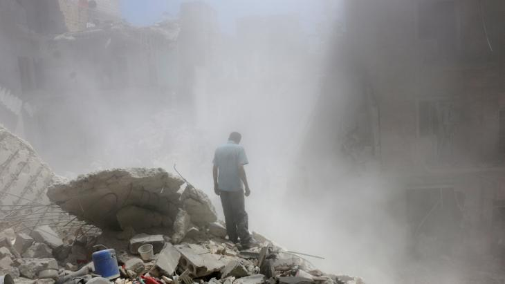 Destruction in Aleppo (photo: Reuters/A. Ismail)